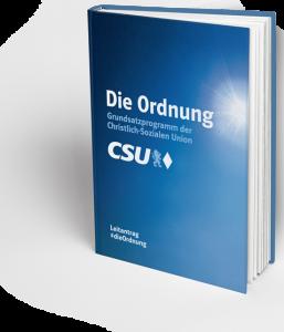 Grundsatzprogramm CSU