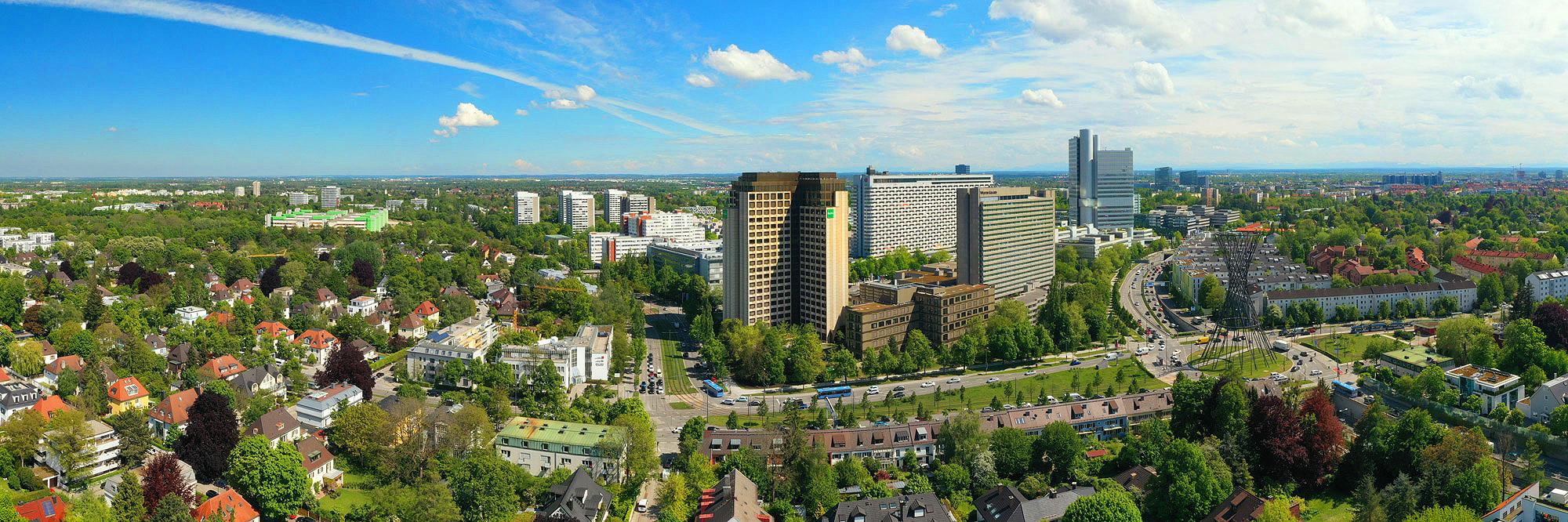 München Bogenhausen Skyline